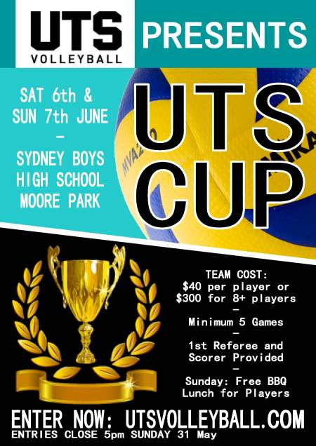 UTS CUP flyer